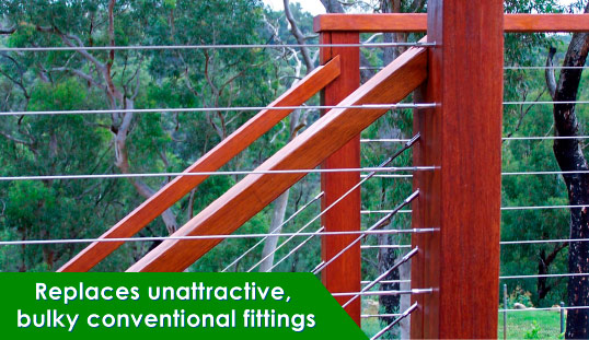 Stainless Steel Balustrade Cabling System
