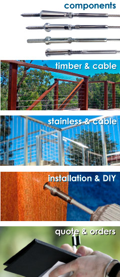 Stainless Steel Cabling Systems Hardware & Accessories
