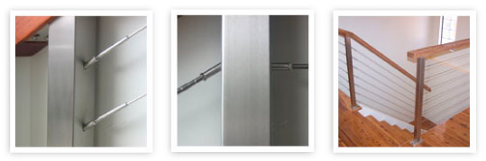 Steel Post Cabling Systems - Balustrades