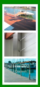 Steel Post Balustrade Cable System